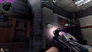 Assault Fire - Modo Mecha con Minigun