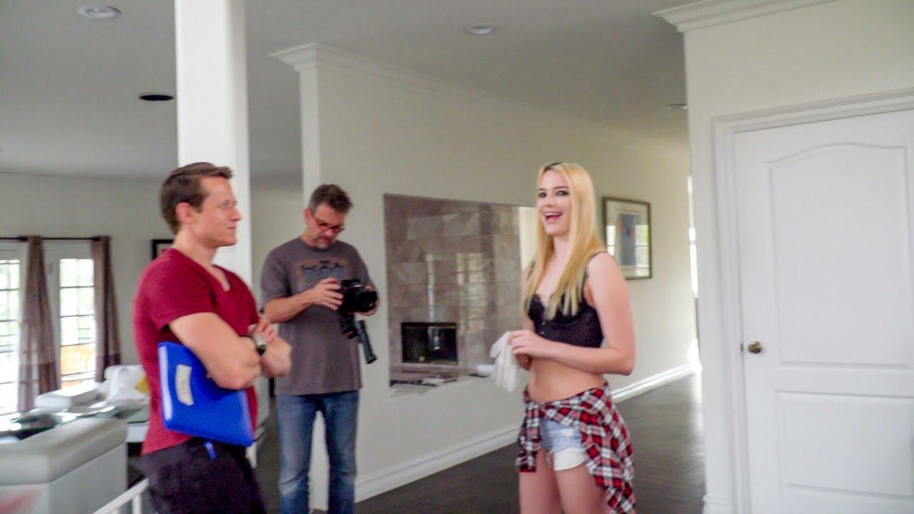Natalia Starr Behind Scenes