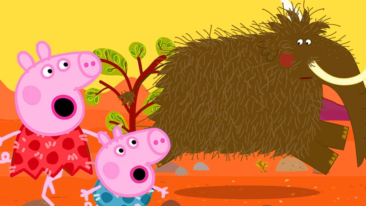 Download Peppa Pig Official Channel | What Happened to Stone Age Peppa Pig?