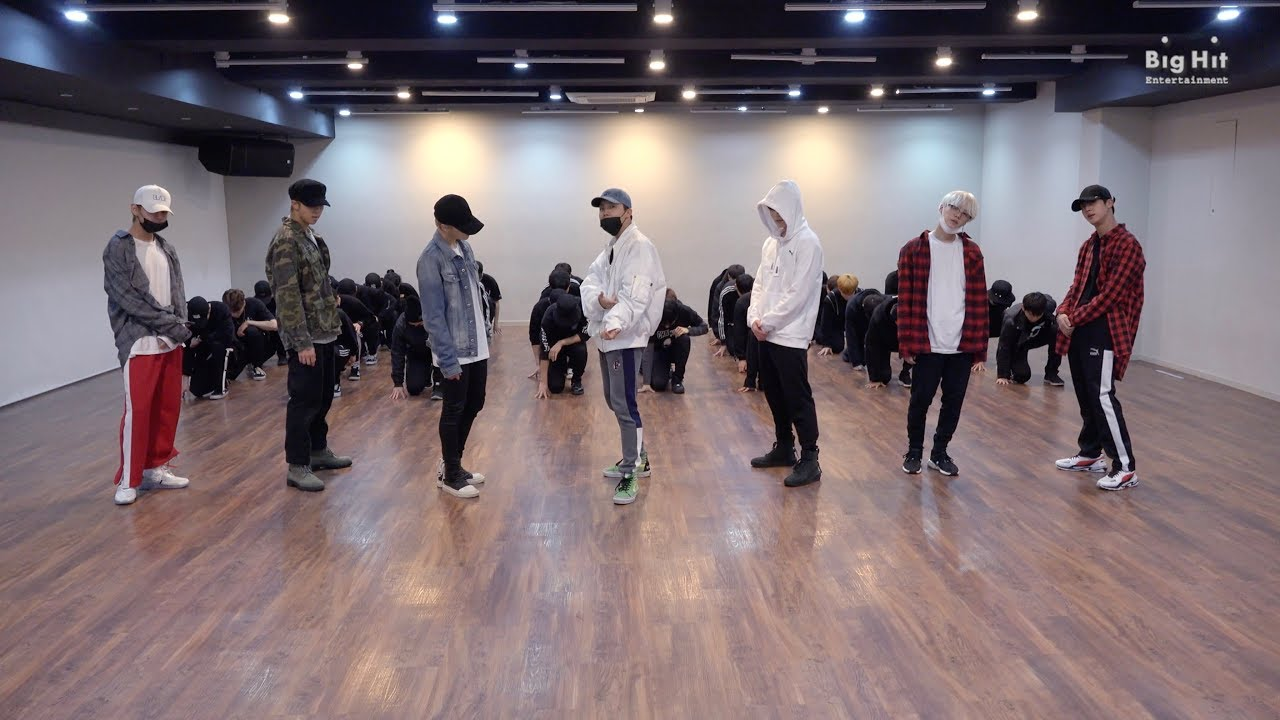download mv bts not today dance practice