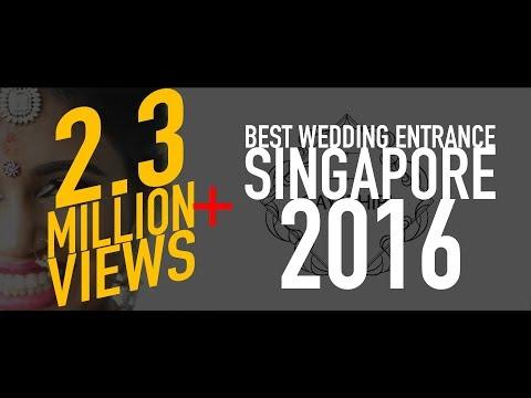 Gopalan & Gayathiri [Bride]   Best Wedding Entrance Singapore 2016