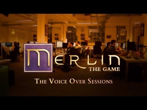 Behind the Scenes - Merlin: The Game - The Voice-Over Sessions - featuring Colin Morgan