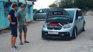 Таких Вы Не Видели! Бешеные Табуретки Fiat 500 И Colt Ralliart - Тест-Драйв В Крыму