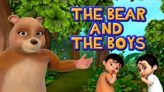 The Boy and the Bear Moral Story for Kids | Infobells
