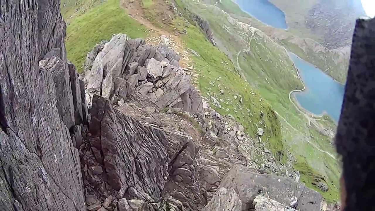 Crib Goch Vertigo Scrambling Snowdon Welsh3000 June