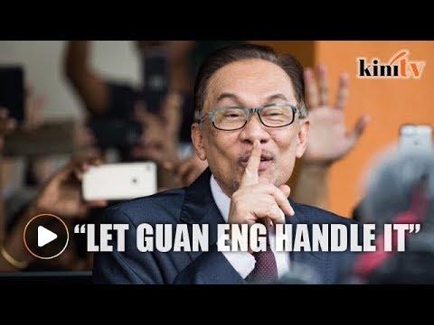 Anwar: Lucky I'm not finance minister