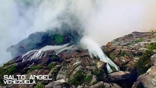 世界最大の落差を誇るあの滝はこんなにも壮大だった。ドローンカメラで接写した、「エンジェルフォール」奇跡の光景