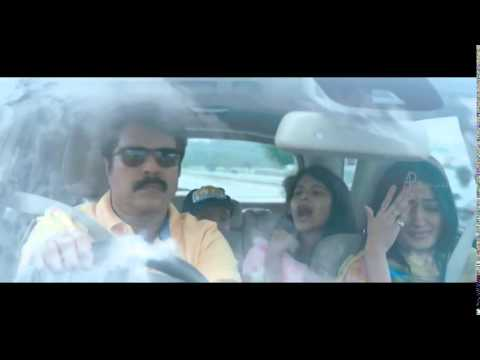 Silence   Mammootty and family gets chased...