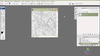 Делаем текстуру мрамора в Photoshop