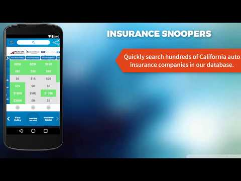 Insurance Snoopers app helps you study your auto policy and chose the right kind of protection.