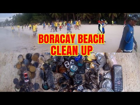 Boracay Beach Clean Up