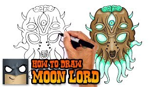 How to Draw Moon Lord | Terraria
