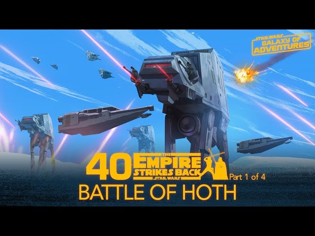 Battle of Hoth | Star Wars Galaxy of Adventures