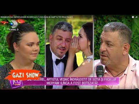 Madalina & Gazi Demirel poveste de iubire ca in ''o mie si una de nopti!'' la TEO Show Kanal D