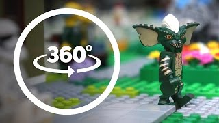 LEGO 360 Minifigures Are In Danger Lego Funny Stop Motion Animation
