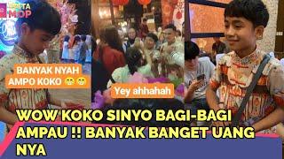 Download lagu WOW KOKO SINYO BAGI-BAGI AMPAU !! BANYAK BANGET UANG NYA   InstaMOP