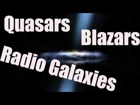 QUASARS, BLAZARS AND RADIO GALAXIES - Active Galactic Nucleus in Universe Sandbox 2