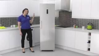 Haier HF 255FAA Freestanding Freezer
