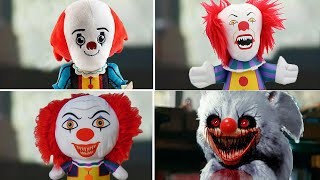 Sonic Movie But With Pennywise IT Choose Favorite Design in Plush (uh meow)