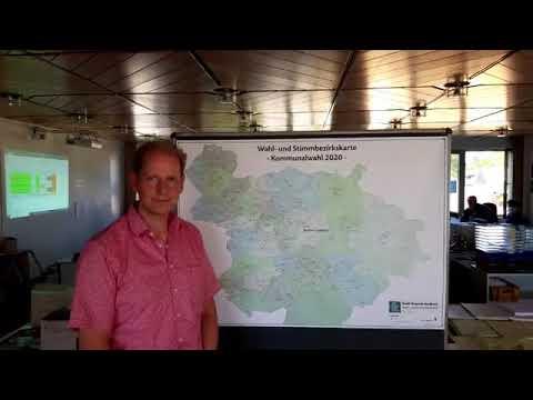 Kommunalwahl 2020: Frank Bodengesser erläutert den Auszählungsmodus