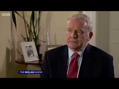 Martin McGuinness Interview - The Nolan Show