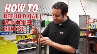 Download Video Rebuilding a QA1 Circle Track Monotube Shock - QA1 Tech MP3 3GP MP4