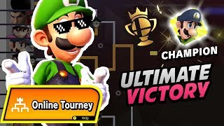 WINNING A FOR GLORY TOURNEY! | Smash Bros Ultimate Online Tourney (Gameplay + First Impressions)