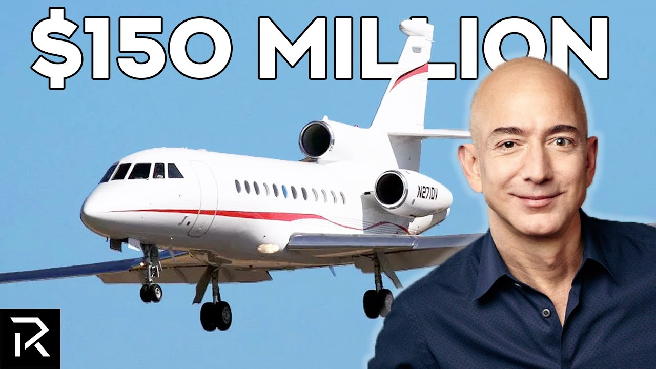 Inside Jeff Bezos' $150 Million Plane