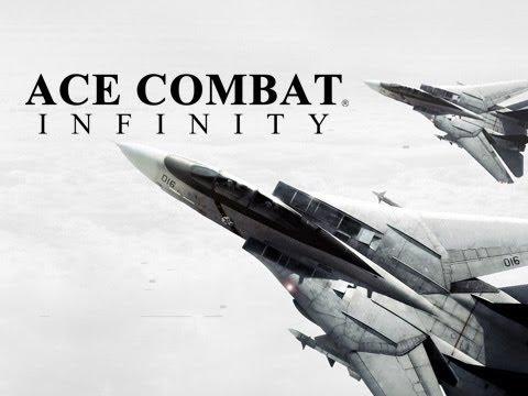 Ace Combat Infinity [PS3] Coop Online Mission [Dubai Night Assault] [HD]