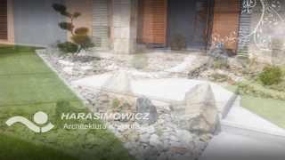 Projektowanie ogrodów w nowoczesnym stylu - Harasimowicz Toruń 2013