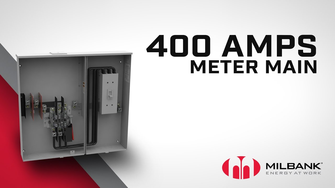 400A Meter Main