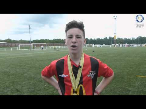 Gala Fairydean Youths 15's Danny Howard post cup win interview