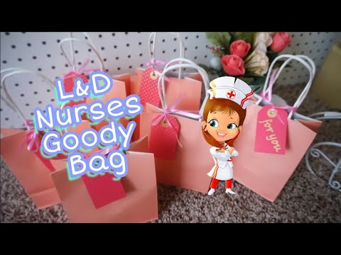 b817a61f67c DIY : Labor & Delivery Nurses Goodie Bags - YouTube