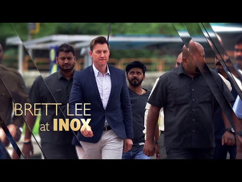 Brett Lee came to INOX and our guests had a blast!