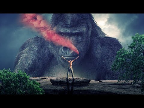 King of jungle photo manipulation | photoshop tutorial cc