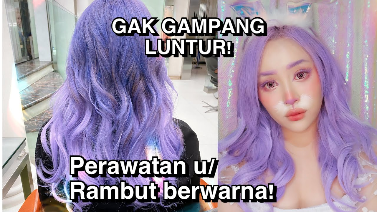 My Hair Care Routine for Colored Hair | JANINE INTANSARI