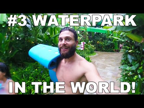 WATERBOM - 3rd BEST WATERPARK IN THE WORLD! 💦