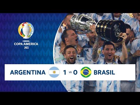 HIGHLIGHTS ARGENTINA 1 - 0 BRASIL   COPA AMÉRICA 2021   10-07-21