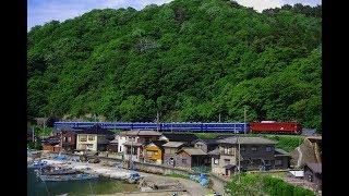 "EF81 136+12系6B ""急行津軽"" 使用車両返却回送(回9840レ)@2019.5.21"