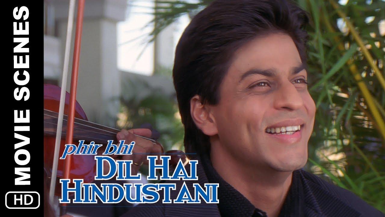 Pehli Date | Phir Bhi Dil Hai Hindustani | Movie Scene | Shah Rukh Khan, Juhi Chawla