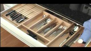 Eagle Woodworking Demonstrates Its Custom Dovetail Drawer Inserts