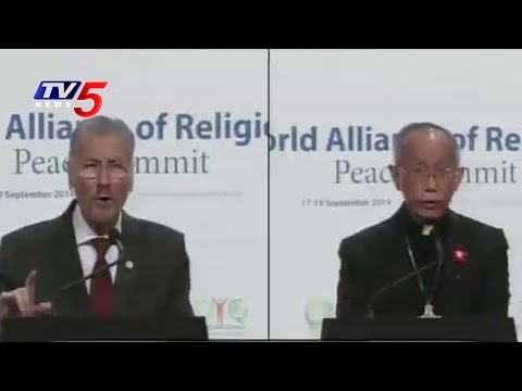 World Alliance of Religions  Peace Summit  on 18th Sep 2015 | TV5 News