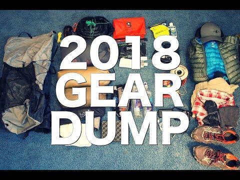 2018 - Lightweight Backpacking - Gear Dump