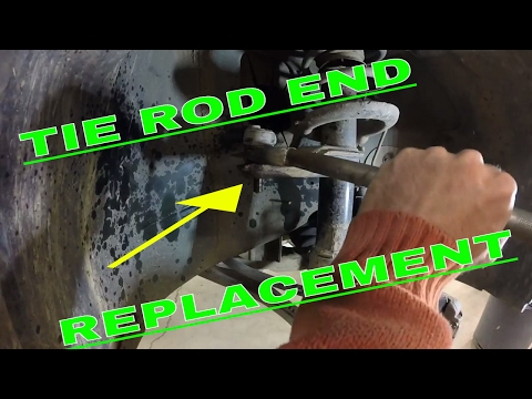 Saab 9-3 Tie Rod End Replacement