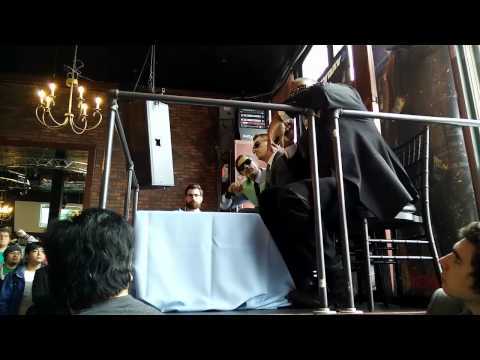 PAYDAYCON 2015 Actor Q&A w/ Eric Etebari, Derek Ray,  Ilia Volok, and Damion Poitier