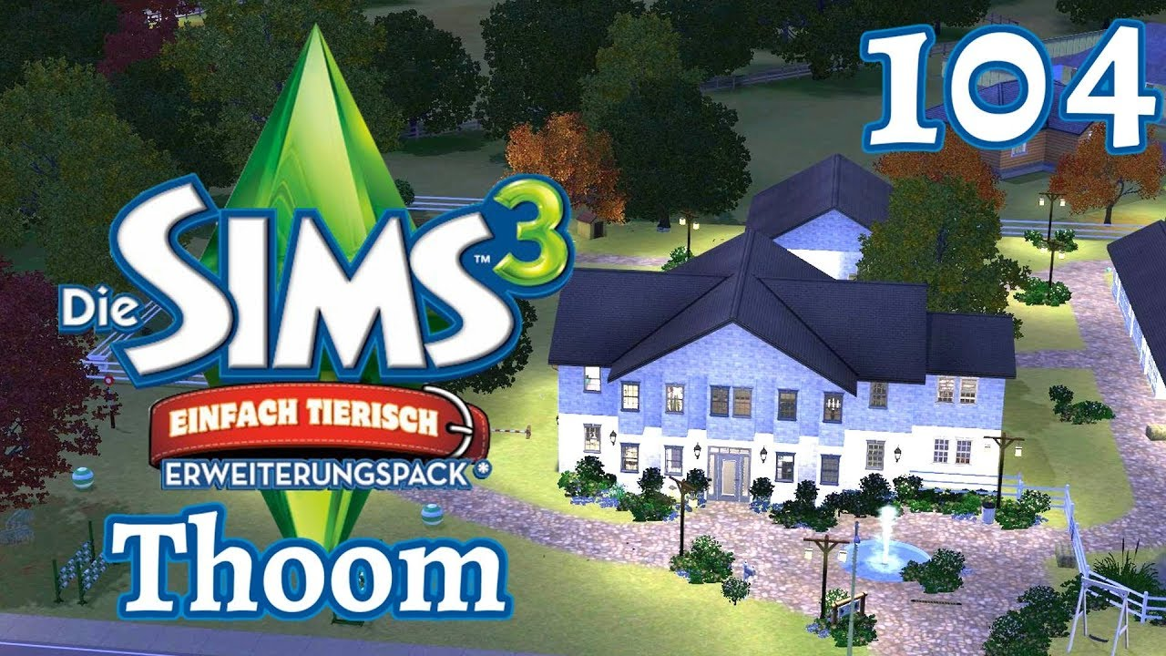 let s play die sims 3 haushalt thoom part 104. Black Bedroom Furniture Sets. Home Design Ideas
