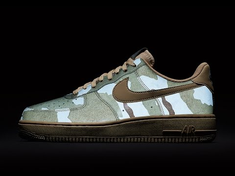 Desert Quick Low Look At The Nike Force Camo Air Reflective 1 One 3m 345qARjL