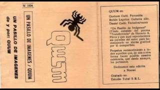 """Quum - """"Incidente en la Ciudad de los Hombres Mecánicos/Estado líquido"""""""