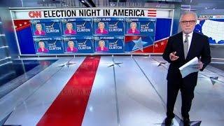 CNN 8p ET projection: Clinton wins 6 states, Trump 3