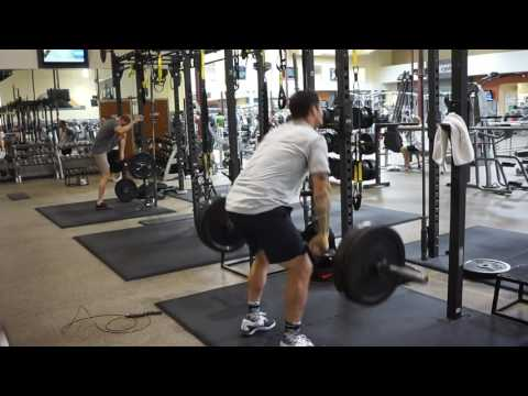 The Perfect Saturday Circuit! DB Snatches/Power Cleans/Double Unders